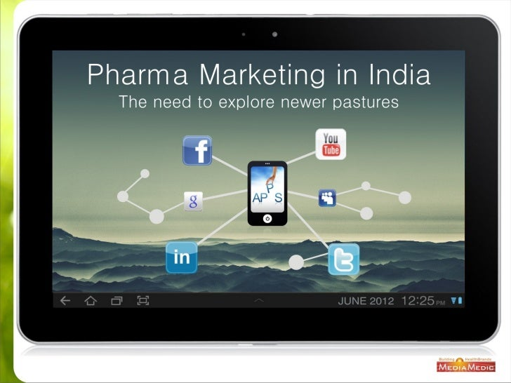 Pharma Marketing in India - The need to explore newer pastures