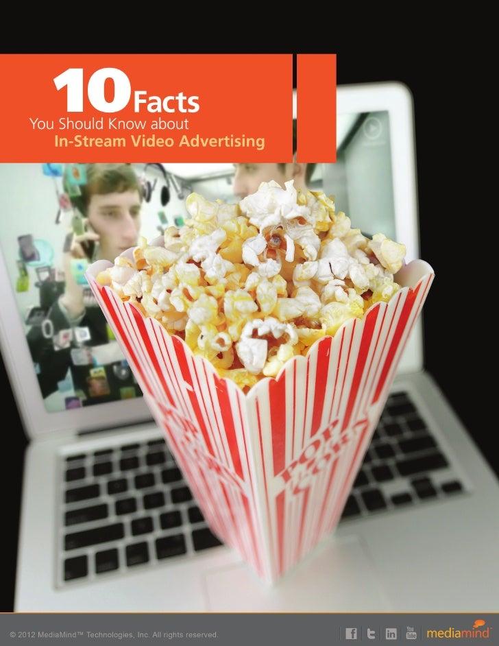 MediaMind: 10 Instream Online Video Facts
