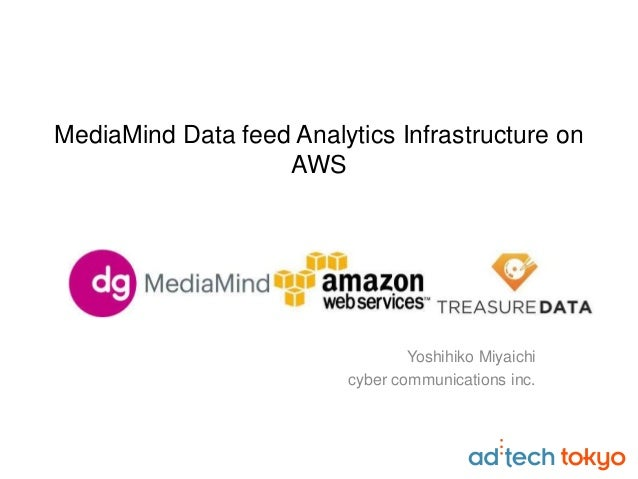 MediaMind Data feed Analytics Infrastructure on AWS Yoshihiko Miyaichi cyber communications inc.