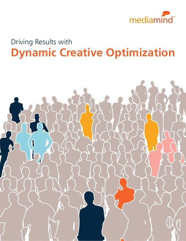 Media Mind: Dynamic Creative Pptimization