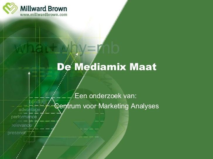 Mediamix Maat