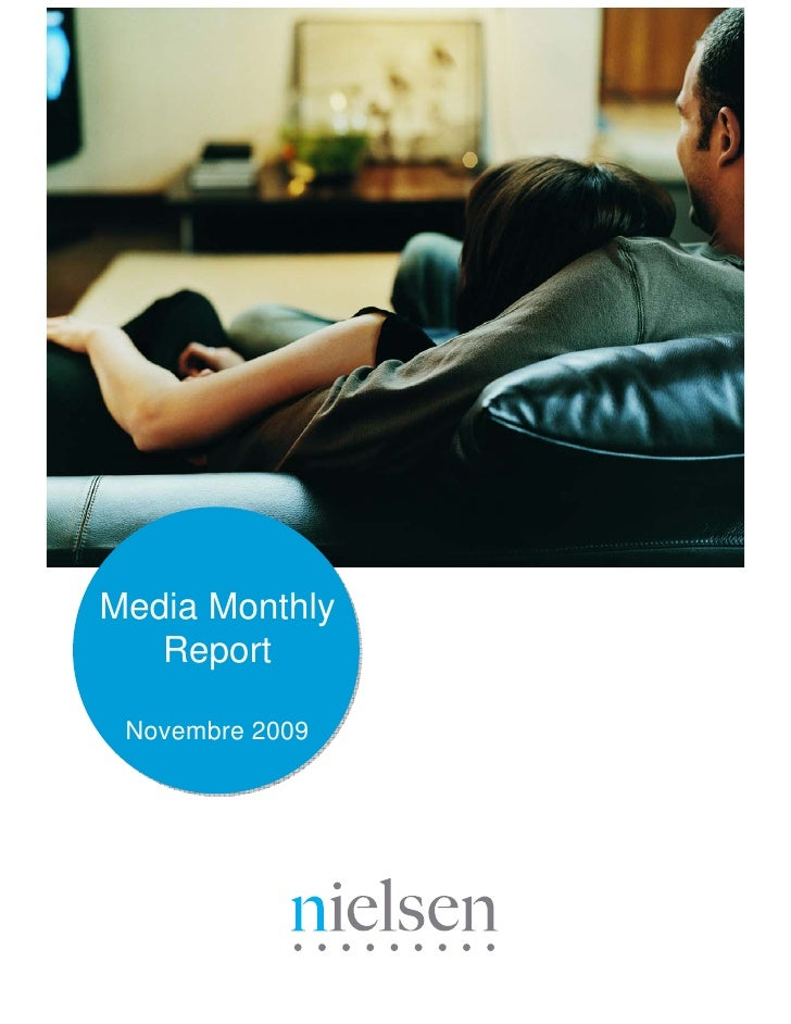 Media Monthly    Report   Novembre 2009
