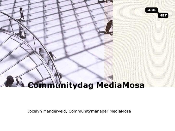 Introduction to MediaMosa Communitydag