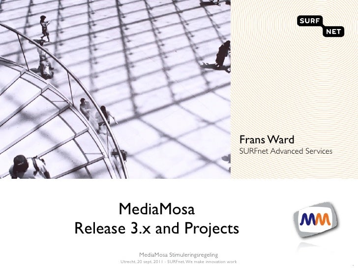MediaMosa 3.x release and Projects