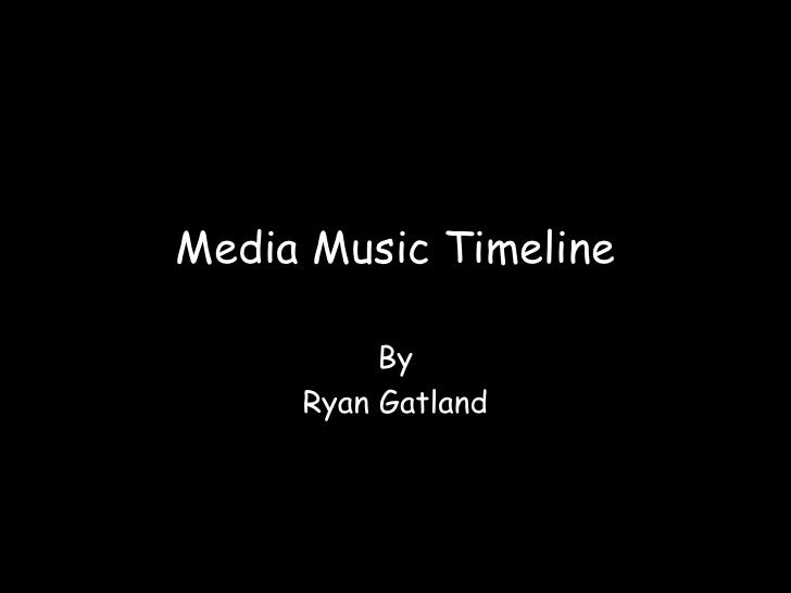 Media music timeline