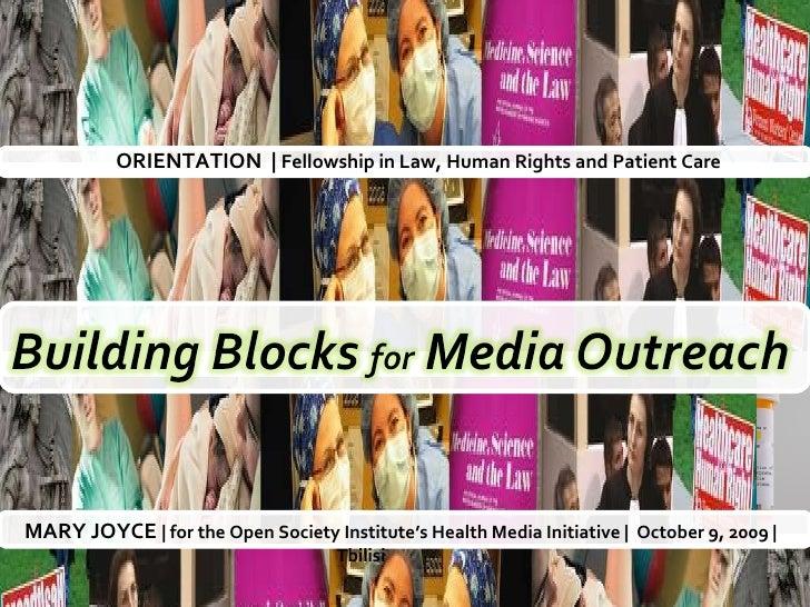 Media Outreach Strategy