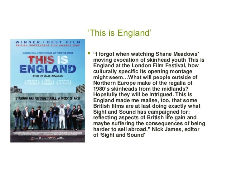 This Is England Analysis - by Alexlundell - Anti Essays