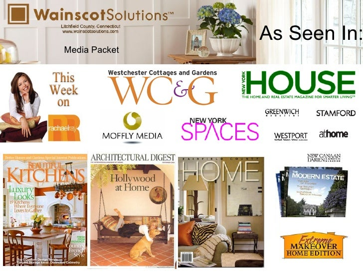 Wainscot Solutions Media Packet