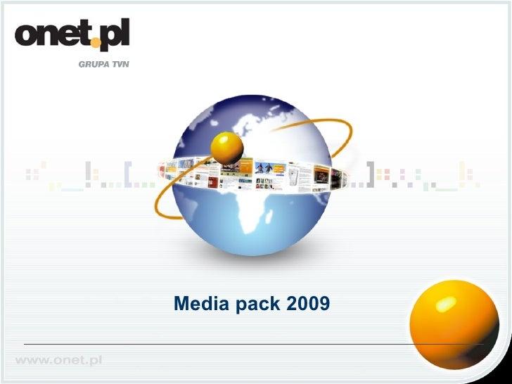 Media Pack Onet.eu