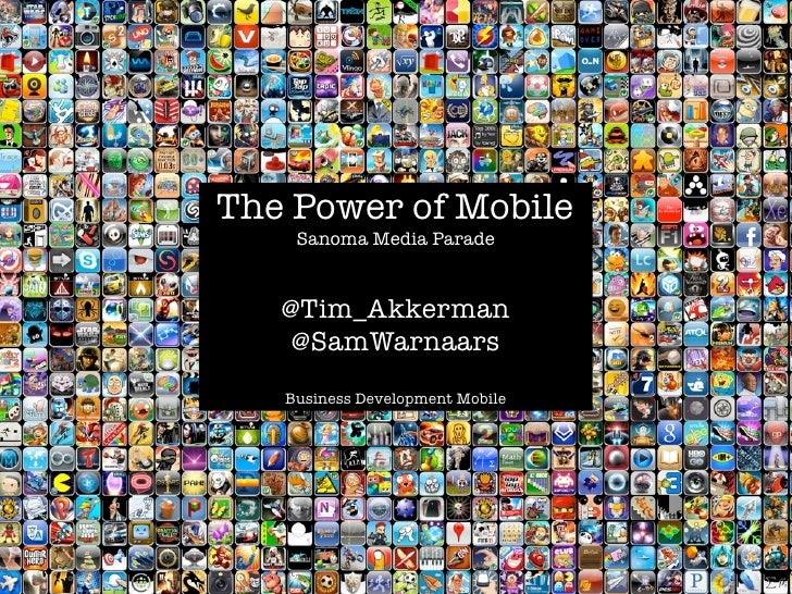 The Power of Mobile