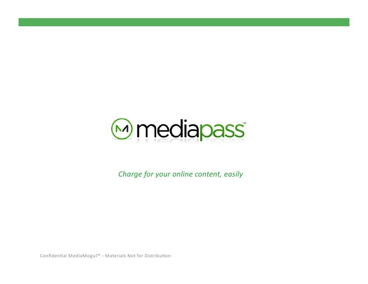 Media Pass Publisher Overview Oct2011