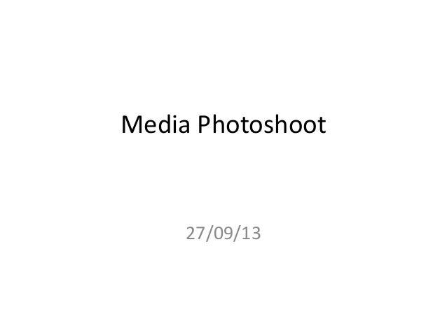 Media photoshoot Sinead MW