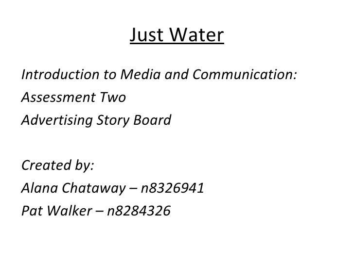 Just Water Analysis