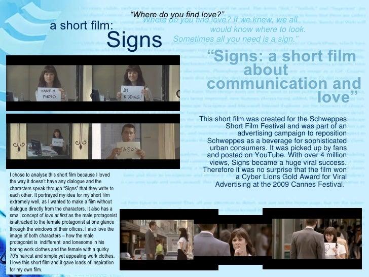 Schweppes Film Festival The Schweppes Short Film