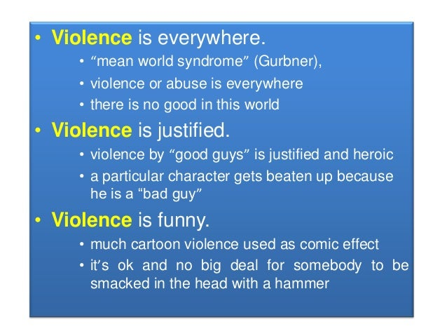 How Does Media Violence Affect Society?
