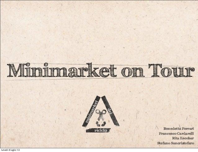 IED - Media III - Minimarket del Riciclo
