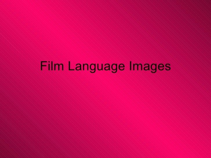 Film Language Images