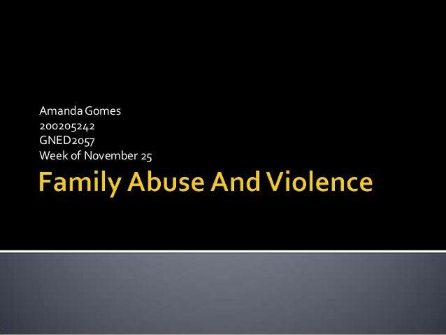 Amanda Gomes 200205242 GNED2057 Week of November 25