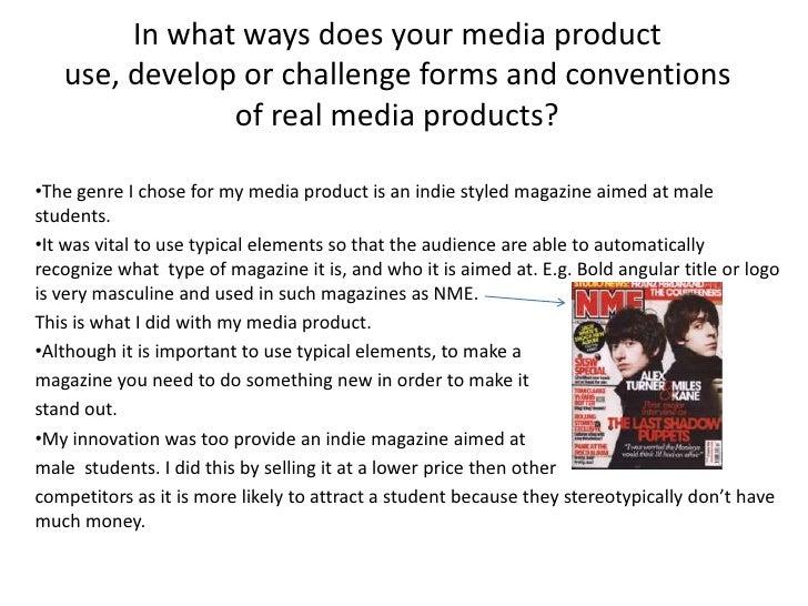 Media product