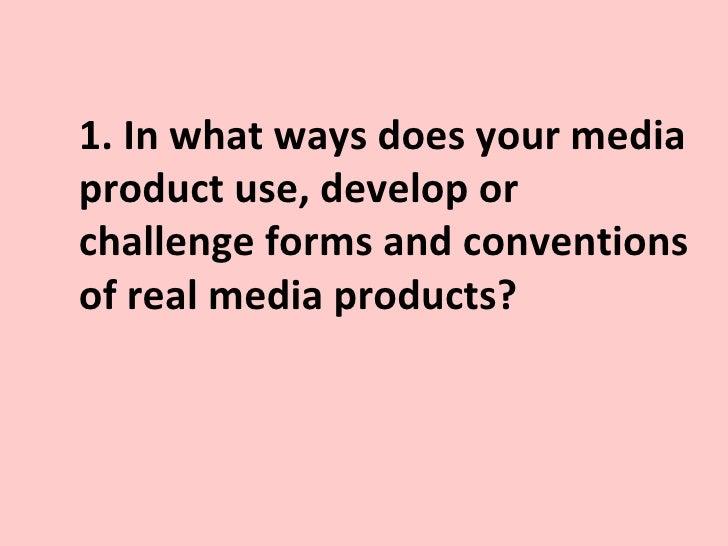 Media question 1