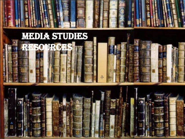 Media Studies Resources