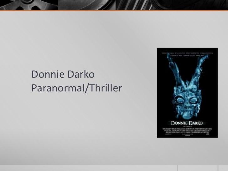 Donnie DarkoParanormal/Thriller