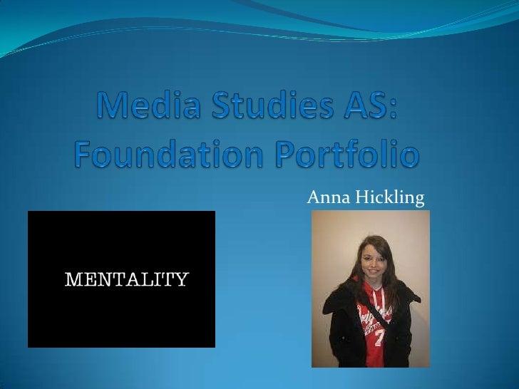 Media Studies As