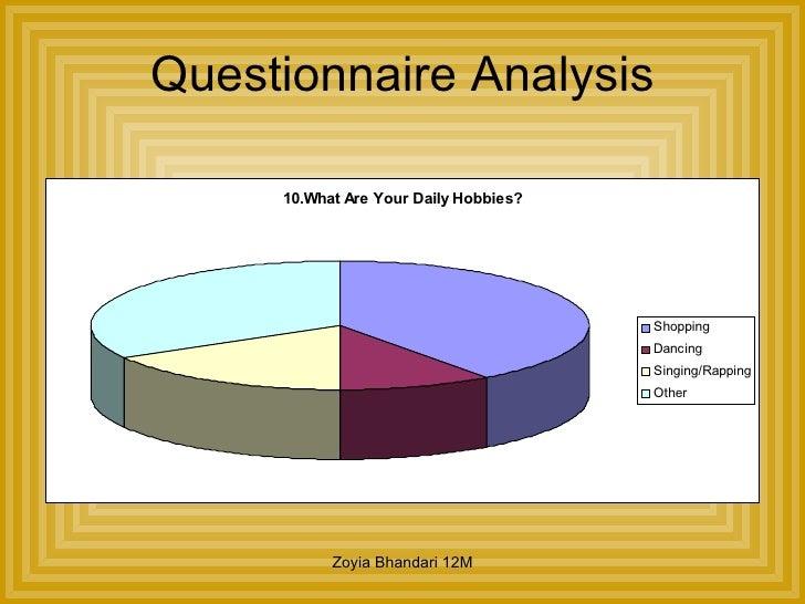 GCSE media coursework survey?