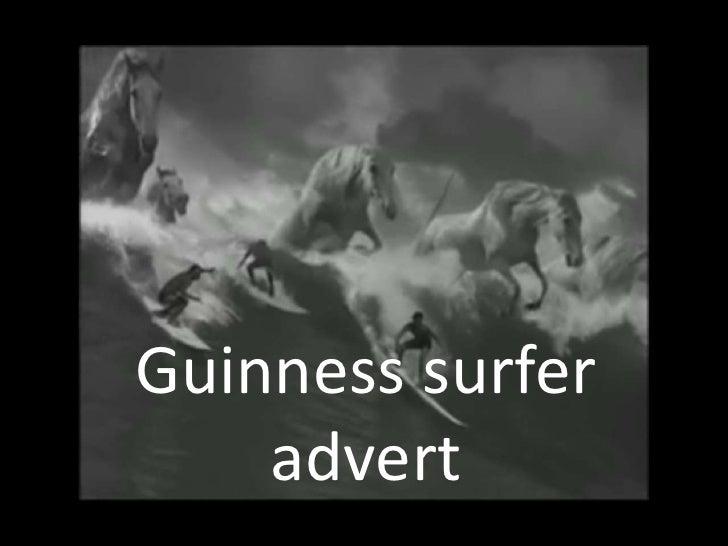 Guinness surfer advert<br />