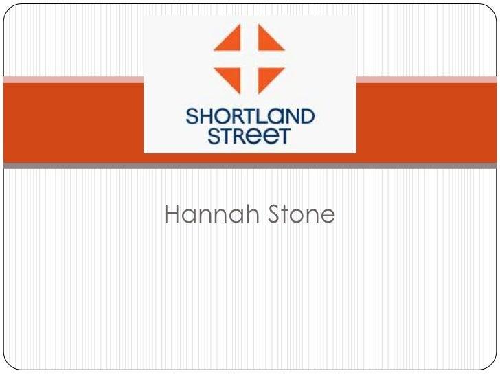 Media Studies - Shortland St