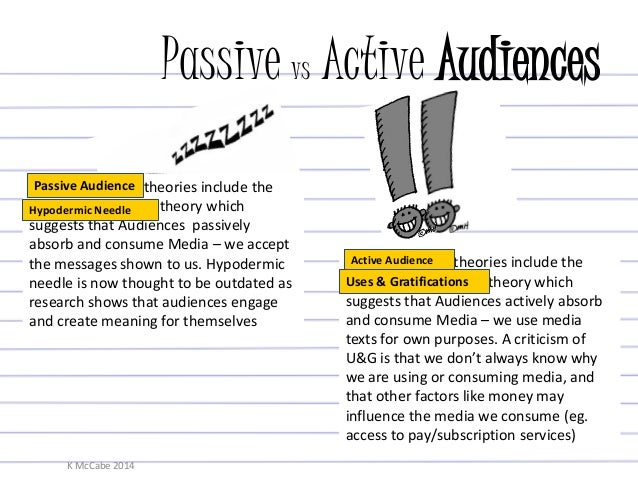 Chapter 8: Active Audiences and the Construction of Meaning - PowerPoint PPT Presentation