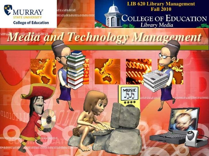 Media & Technology Management 2003