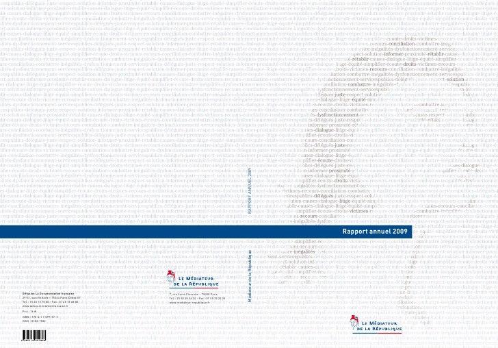Mediateur de la_republique_rapport_annuel_2010