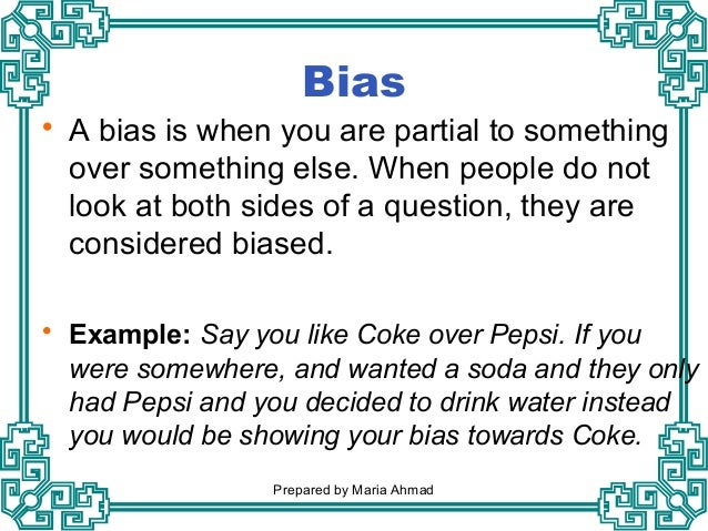 media power and media bias essay Racism and the media: a textual analysis it targets media bias they have the power to make the innocent guilty.