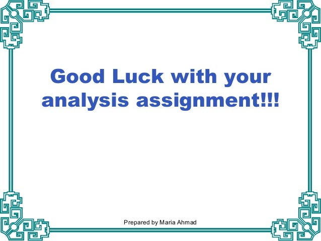 Media Analysis - Assignment Example