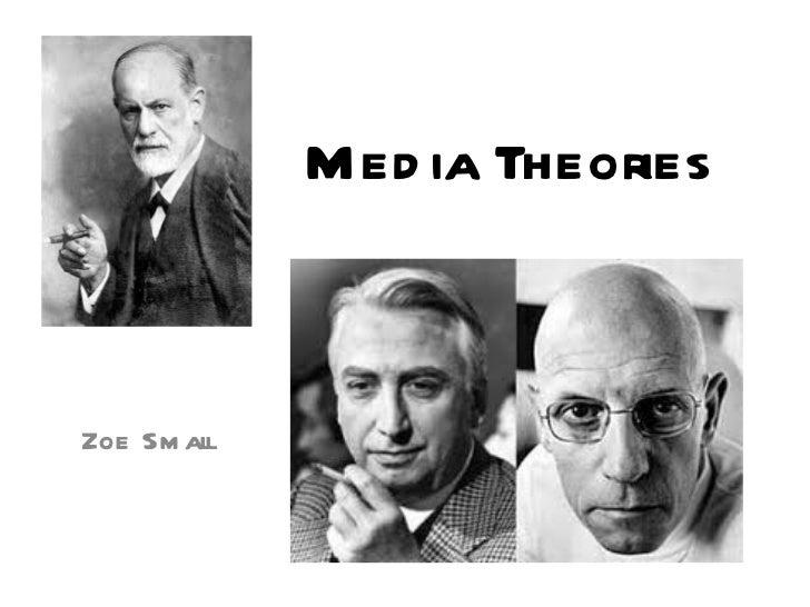 Media Theories Zoe Small