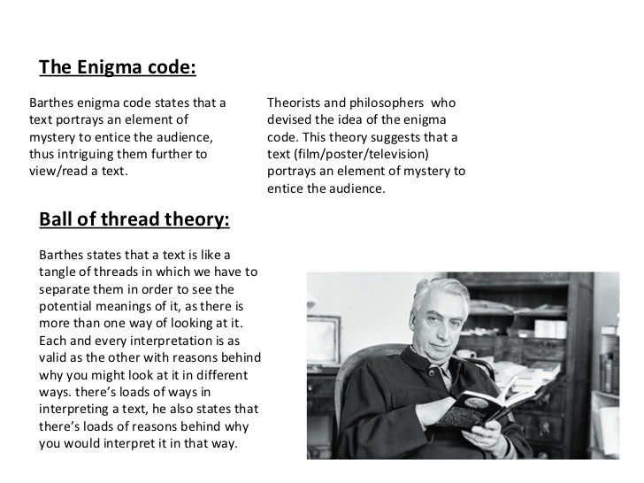 applying roland barthes communication theory Resources for theories covered in a first look at communication theory (9th edition) roland barthes mass communication: (most typical are application logs.