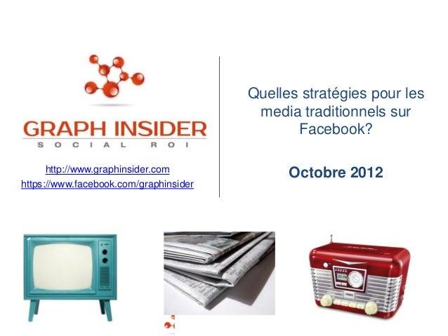 Quelles stratégies pour les                                         media traditionnels sur                               ...