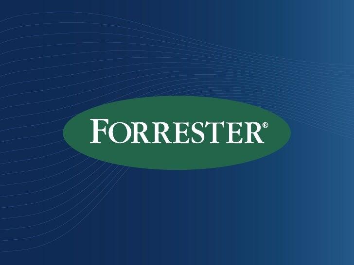 Media Trust Sponsored Workshop — Forrester