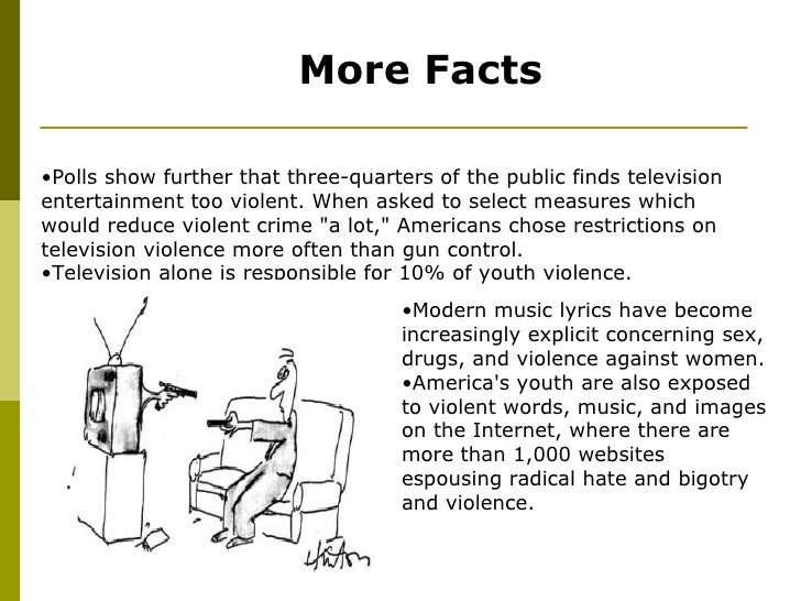 the effects of media violence on viewers Essay on television and media violence - effects of tv violence on children - effects of television violence on children television is the mainstream of our culture violence on television has been a topic of conflict since before 1950.