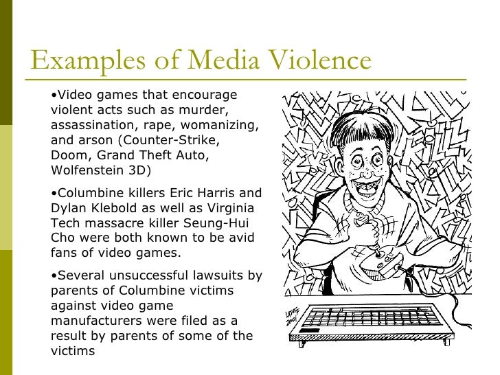 Violence in the media essays