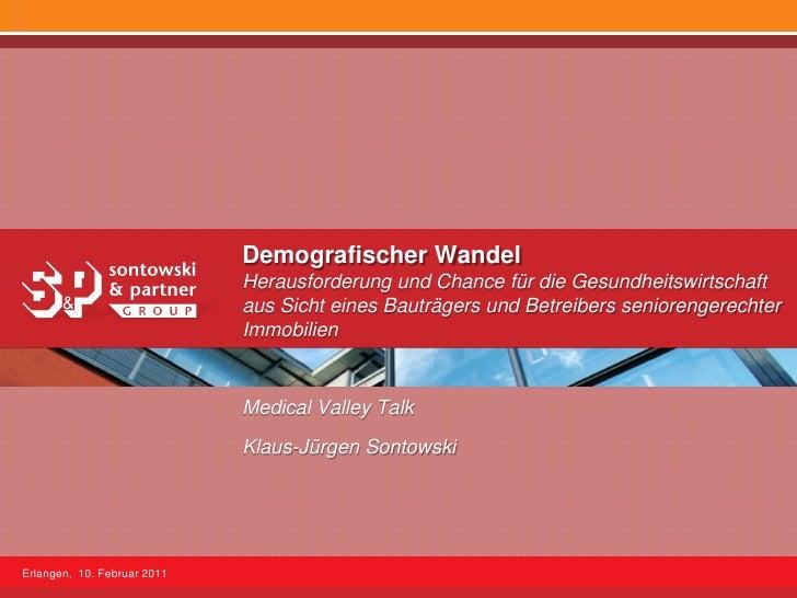 Demografischer Wandel                             Herausforderung und Chance für die Gesundheitswirtschaft                ...