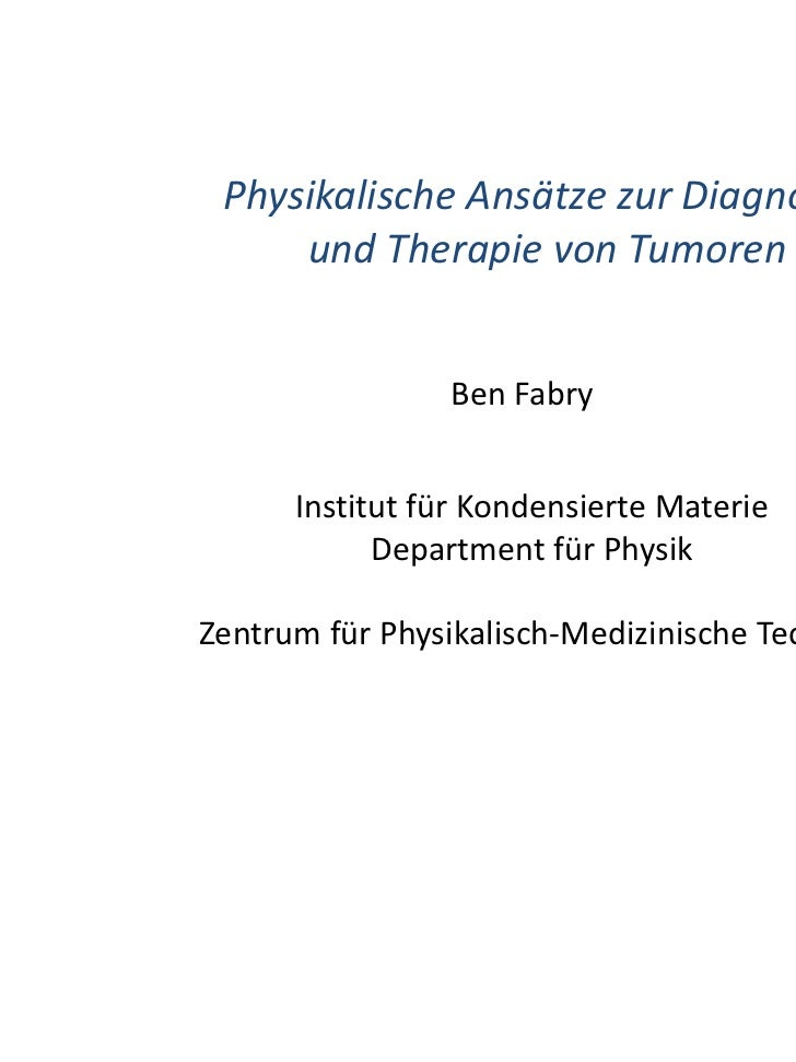 MedicalValley Talks am 14.04.2011 mit Prof. Fabry