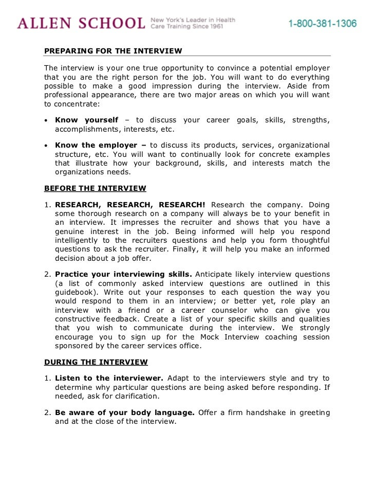 Tips For Writina A Letter To Employer After An Interview
