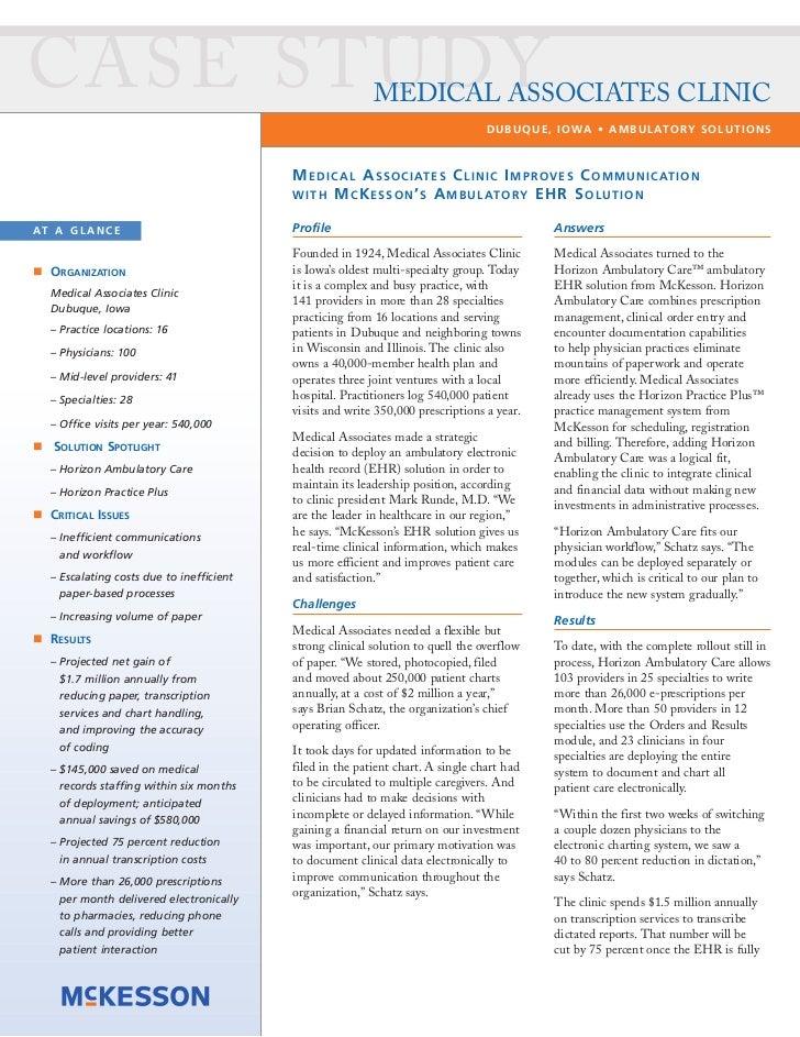 Medical Associates Clinic Improves Communication with Ambulatory EHR