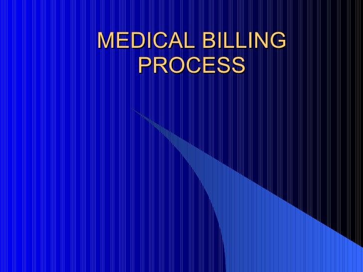 Medical Billing Work Flow by Sidhant Raj