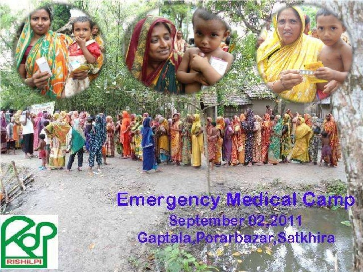 Medical camp report 02092011
