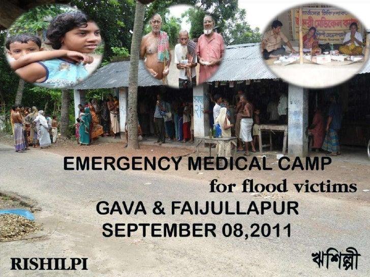 Medical camp report 08092011