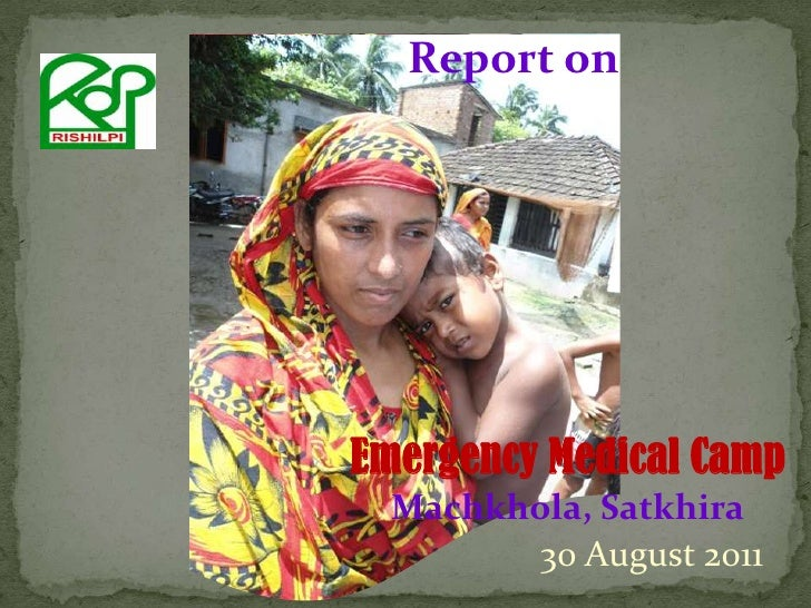 Medical camp report 30082011