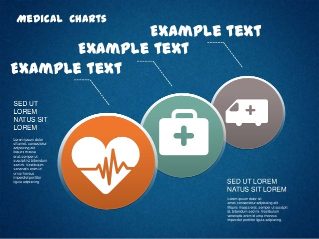 Medical Process Charts with Icons